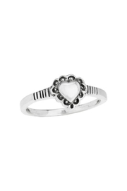 Tiger Mountain Lacy Heart Ring - Product Mini Image