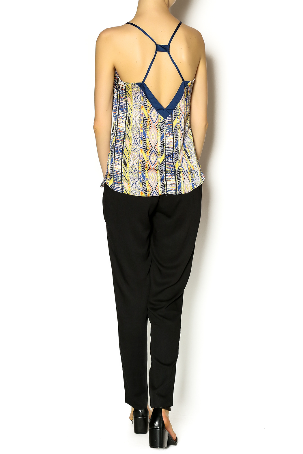 Ladakh High Waisted Trouser - Side Cropped Image