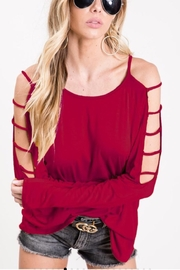 Bibi Ladder Sleeve Shirt - Product Mini Image