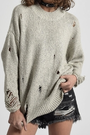 One Teaspoon Laddered Whiskey Knit - Product Mini Image