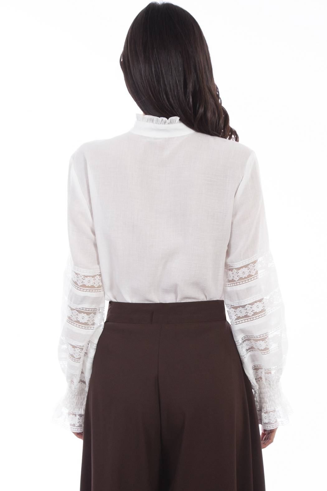 Scully  Ladies Poet Blouse - Main Image