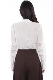 Scully  Ladies Poet Blouse - Product Mini Image