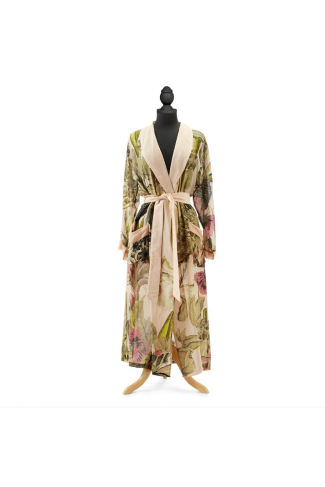 The Birds Nest LADIES ROBE - Front Cropped Image