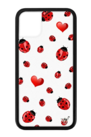 wildflower Lady Bugs iPhone 11 Case - Front cropped