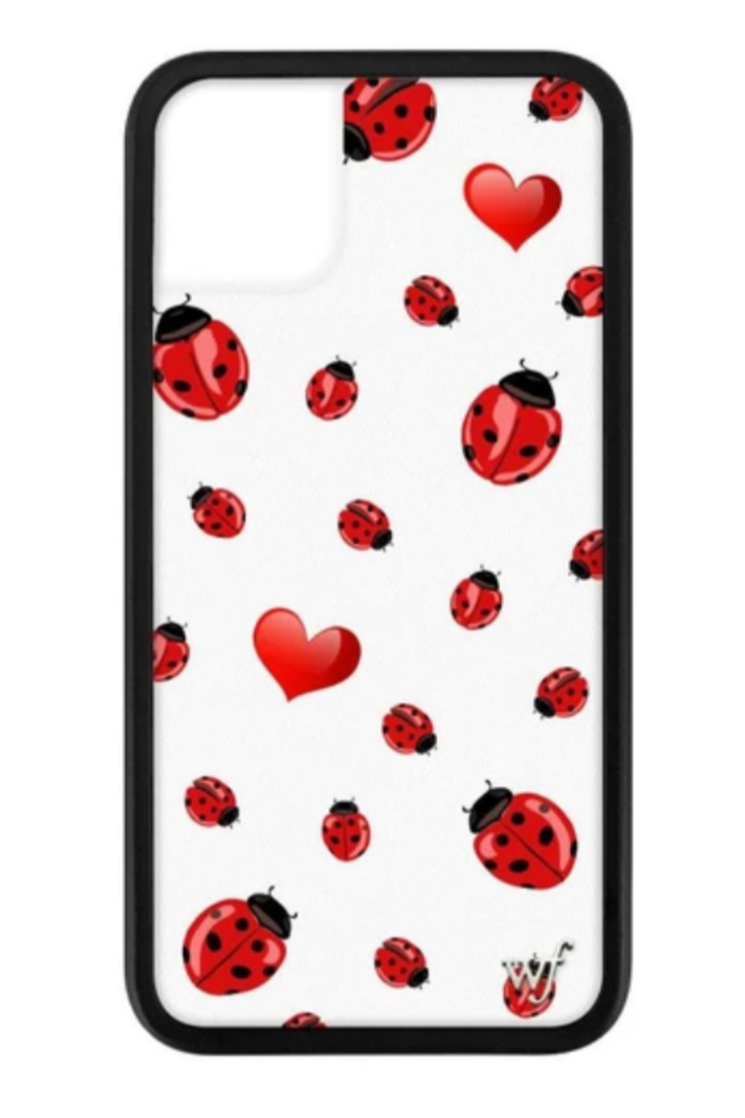 wildflower Lady Bugs iPhone 11 Pro Case - Front Cropped Image