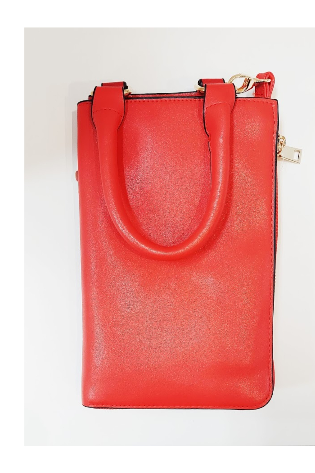 KIMBALS Lady in Red Small Tote Bag - Front Full Image