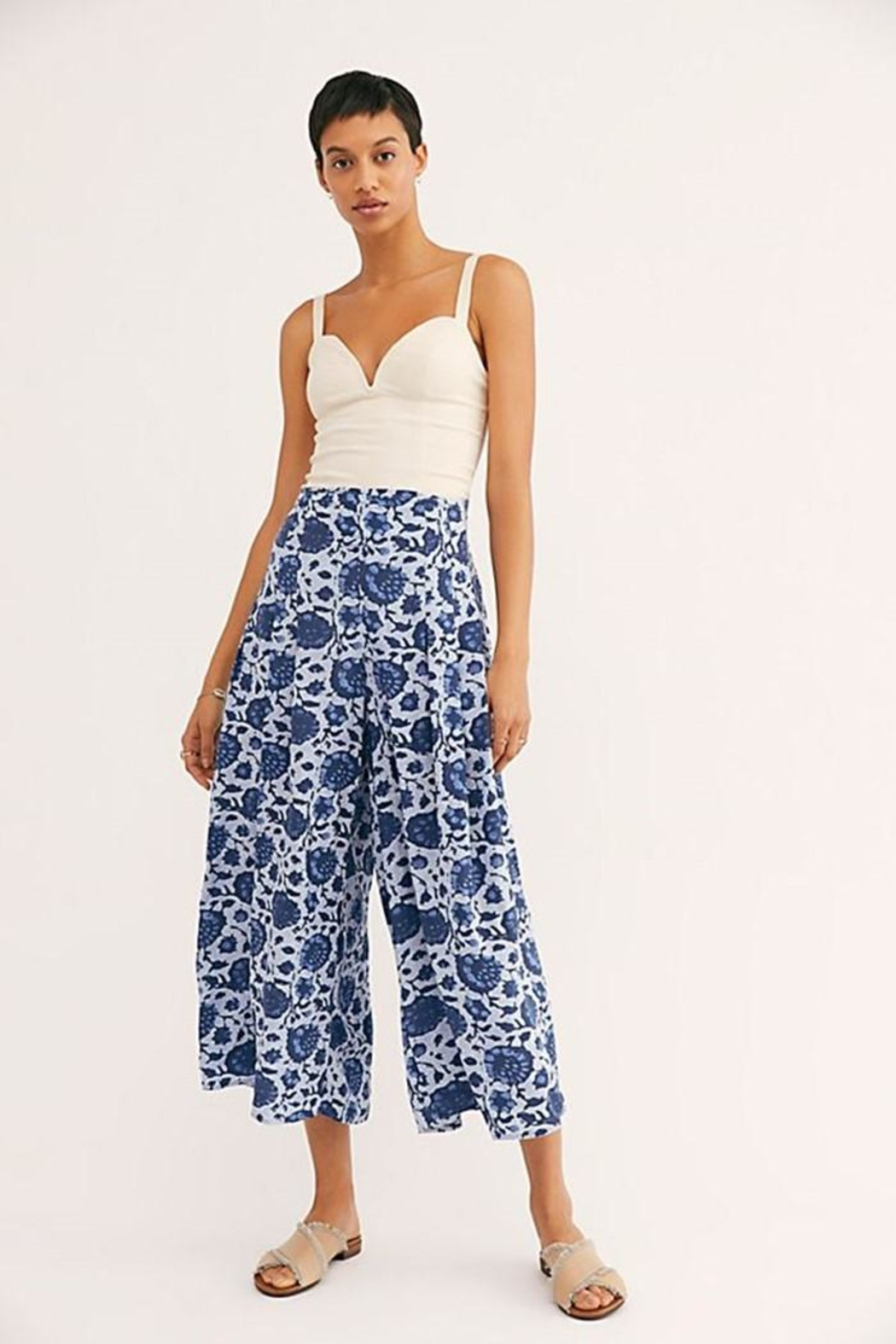 Free People Lady Lady Trousers - Back Cropped Image