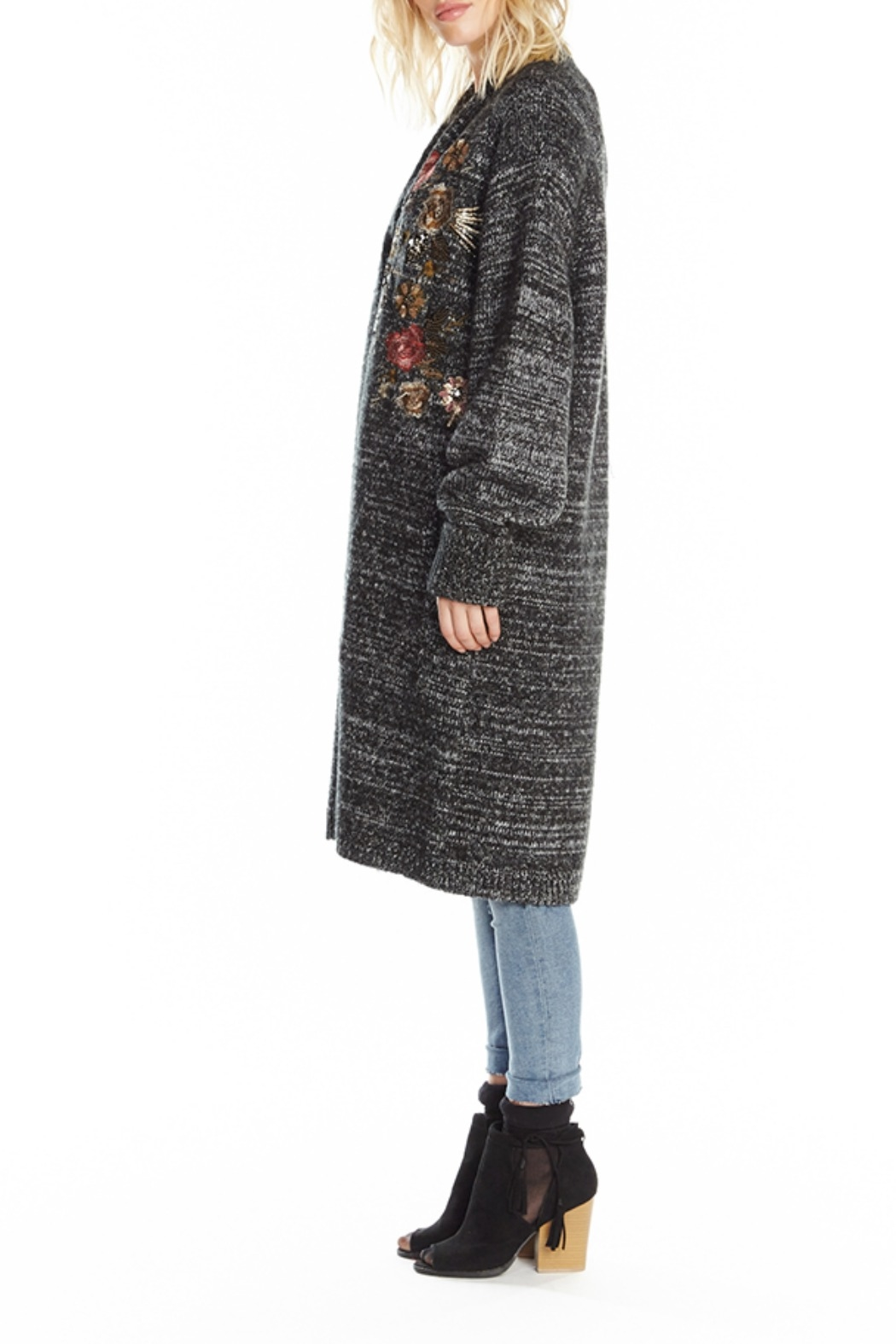 Aratta Lady May Sweater Long Cardigan - Front Full Image
