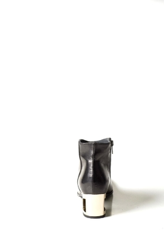 Lady Doc Black Cut-Out Ankle-Boot - Alternate List Image