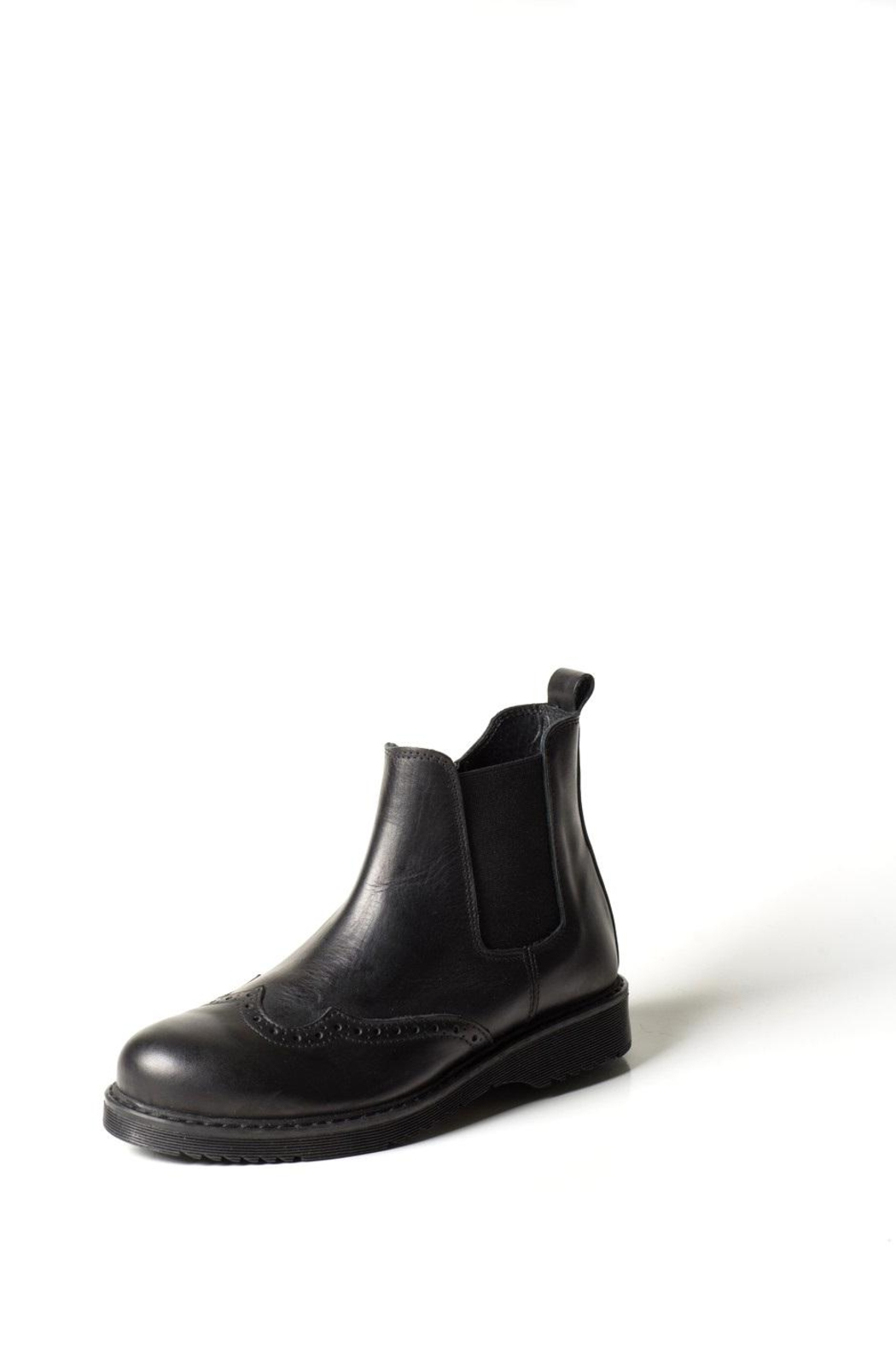 Lady Doc Brogue Ankle-Boot - Main Image