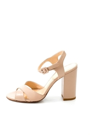 Lady Doc Double Crossover Heels - Front full body