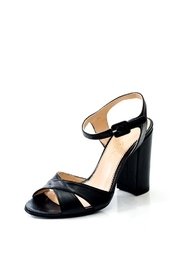 Lady Doc Double Crossover Heels - Front cropped
