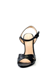 Lady Doc Double Crossover Heels - Back cropped