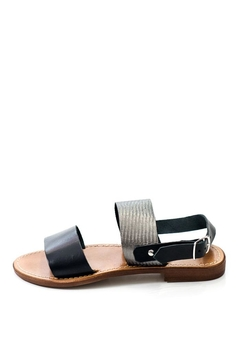Shoptiques Product: Double-Strap Black Sandal