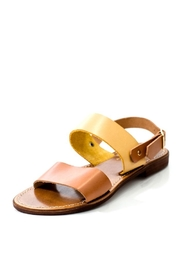 Lady Doc Double-Strap Ocra Sandal - Front full body