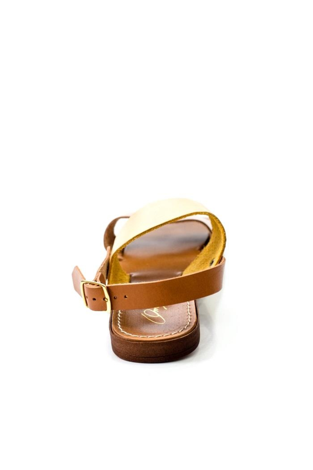 Lady Doc Double-Strap Ocra Sandal - Side Cropped Image