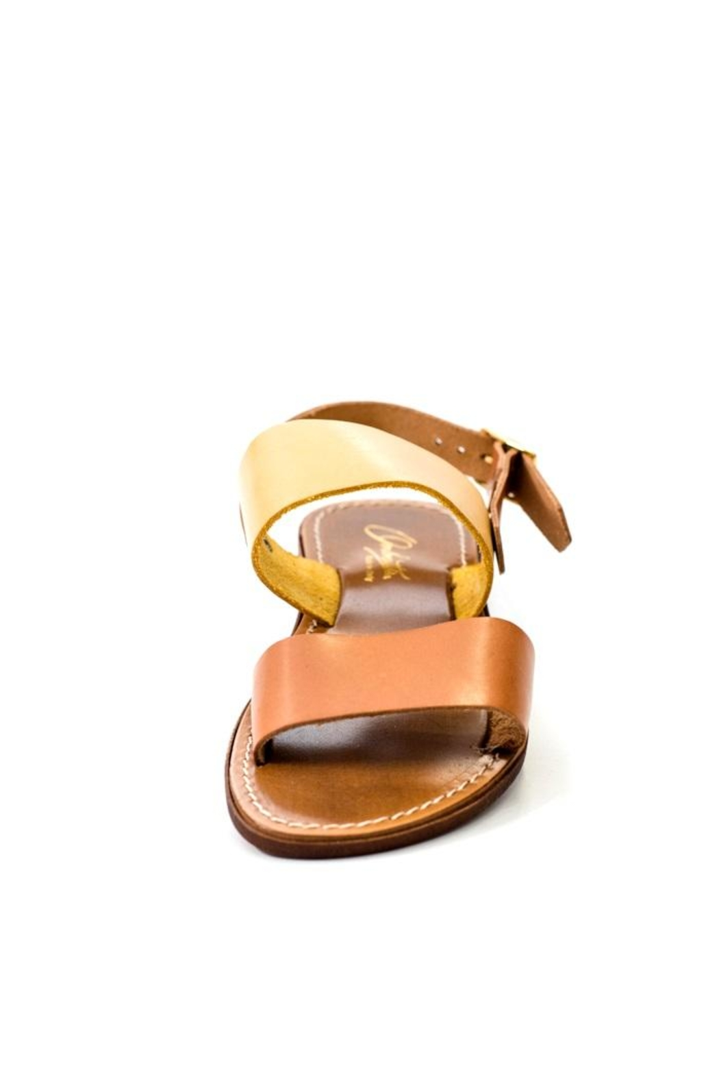 Lady Doc Double-Strap Ocra Sandal - Back Cropped Image
