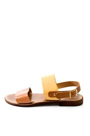 Lady Doc Double-Strap Ocra Sandal - Front cropped