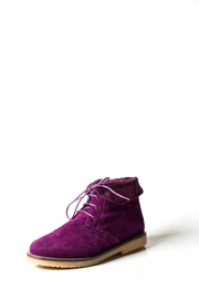 Lady Doc Purple-Suede Boot - Product Mini Image