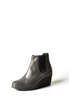Lady Doc Steel-Grey Wedge Boot - Product List Image