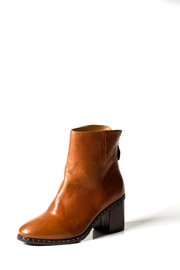Lady Doc Tan Stud Ankle-Boot - Product Mini Image