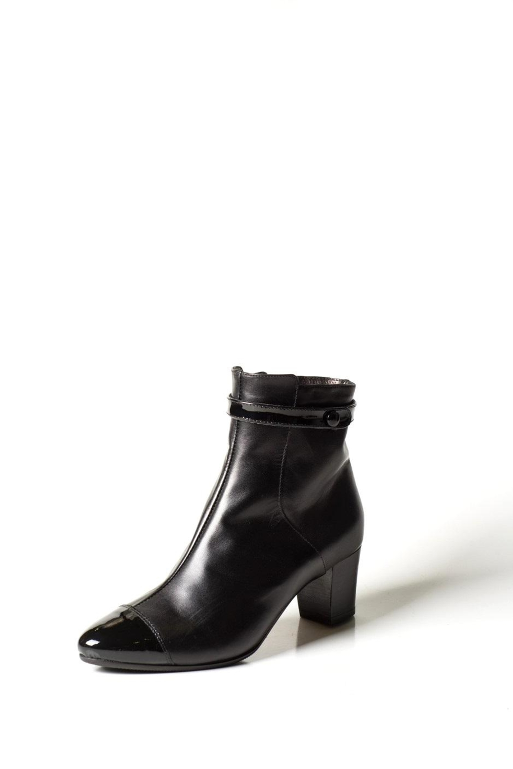 Lady Doc Wool-Lined Ankle Boot - Main Image