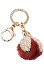 Spartina 449 Ladybug Puff Bag Charm-Keychain - Product Mini Image