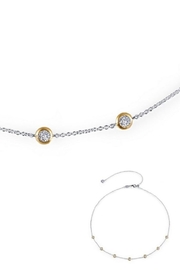 Lafonn Round Bezel Two Tone Necklace - Product Mini Image