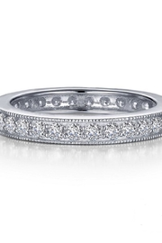 Lafonn Round Milgrain Eternity Band - Product Mini Image