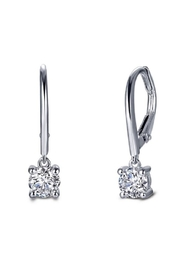Lafonn Round Solitaire Drop Earrings - Product Mini Image