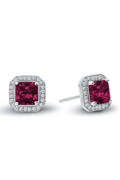 Shoptiques Product: Ruby Stud Earrings