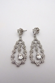 Lafonn Silver Chandelier Earrings - Product Mini Image