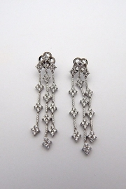Lafonn Silver Drop Earrings - Product Mini Image