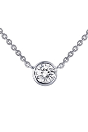 Lafonn Round Solitaire Bezel Necklace - Product Mini Image