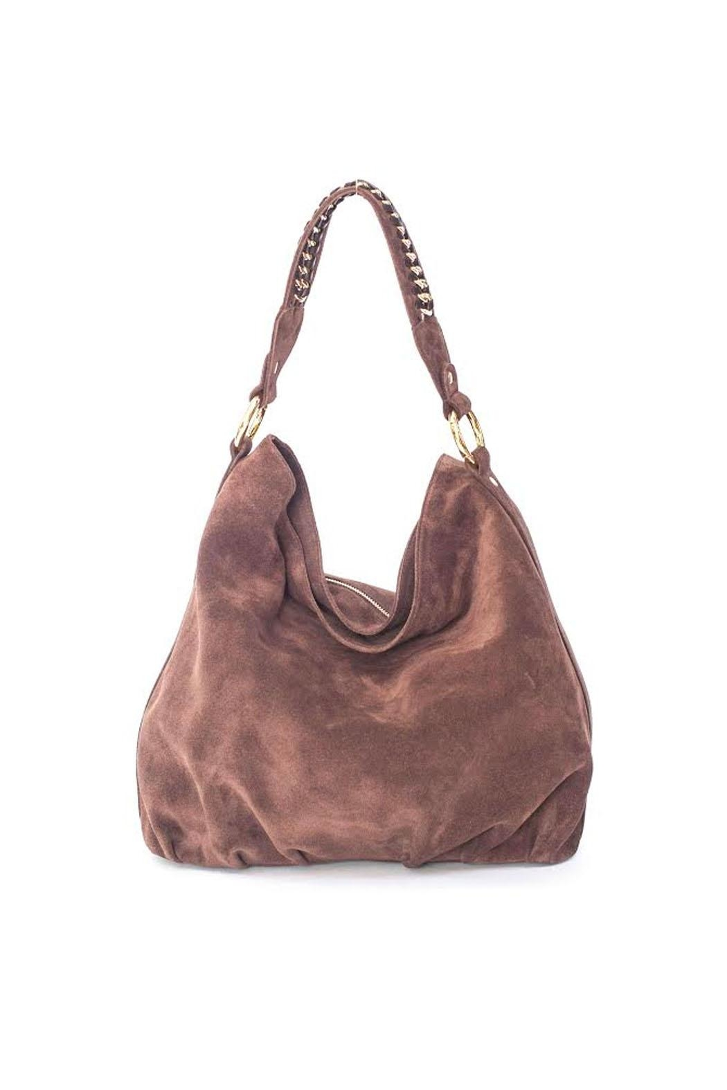 Laggo Audrey Brown Hobo Bag - Main Image