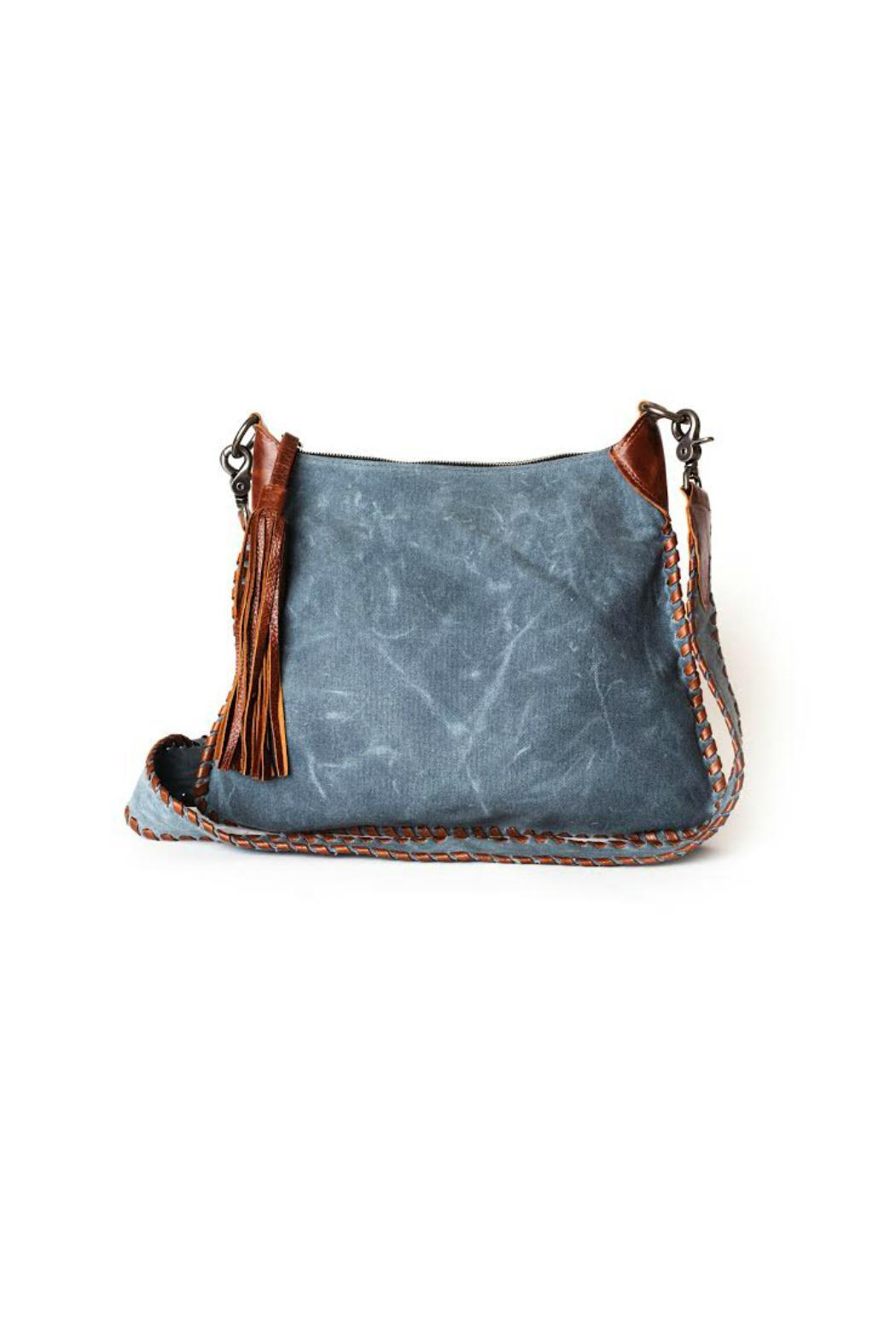 Laggo Lacey Crossbody Denim - Main Image