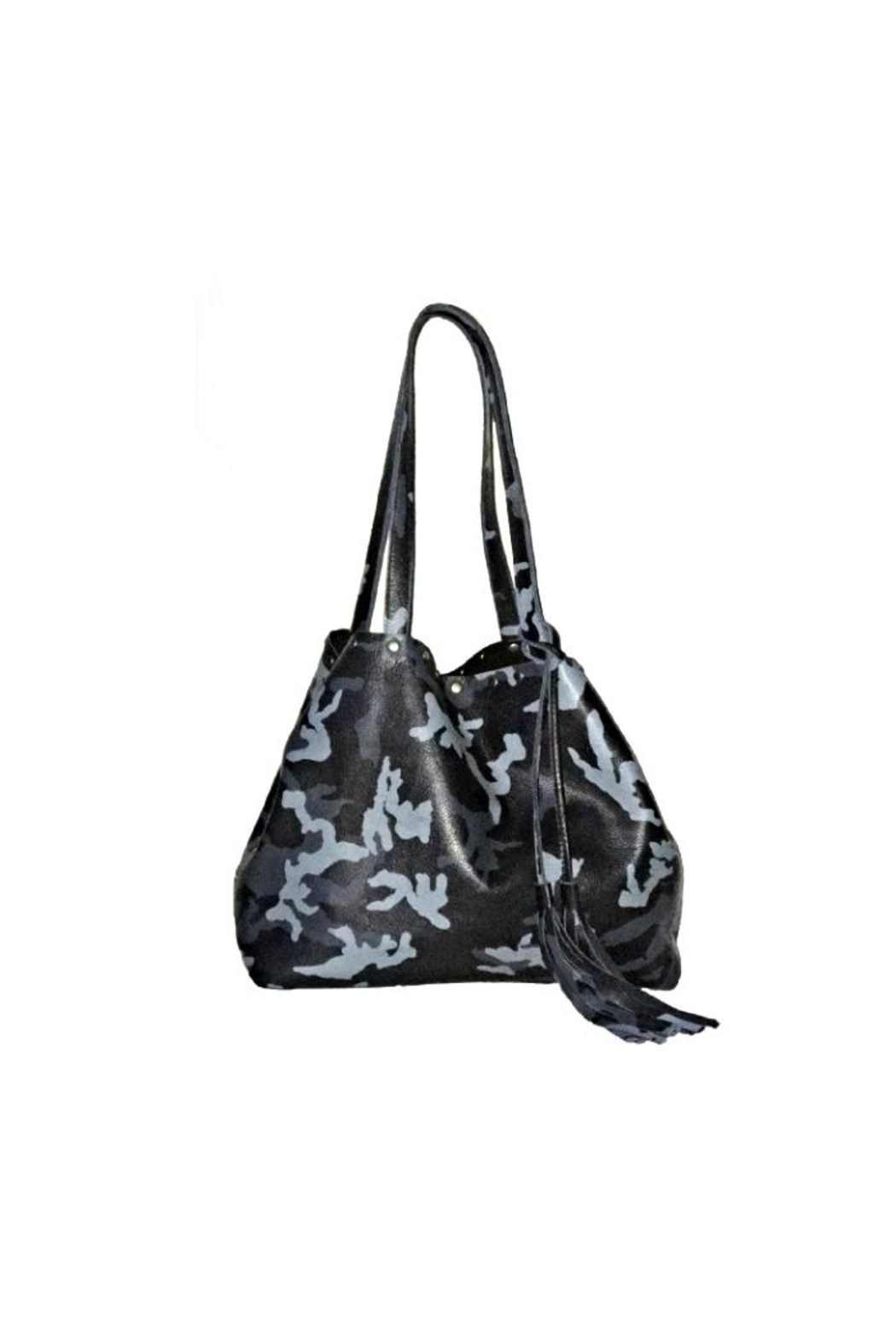 Laggo Remi Camo Tote - Front Cropped Image