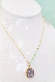 Lotus Jewelry Studio Lagoon Necklace - Side cropped