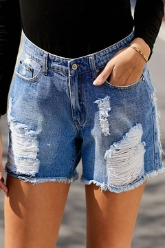 Shewin Laguna Jeans Shorts - Product List Image