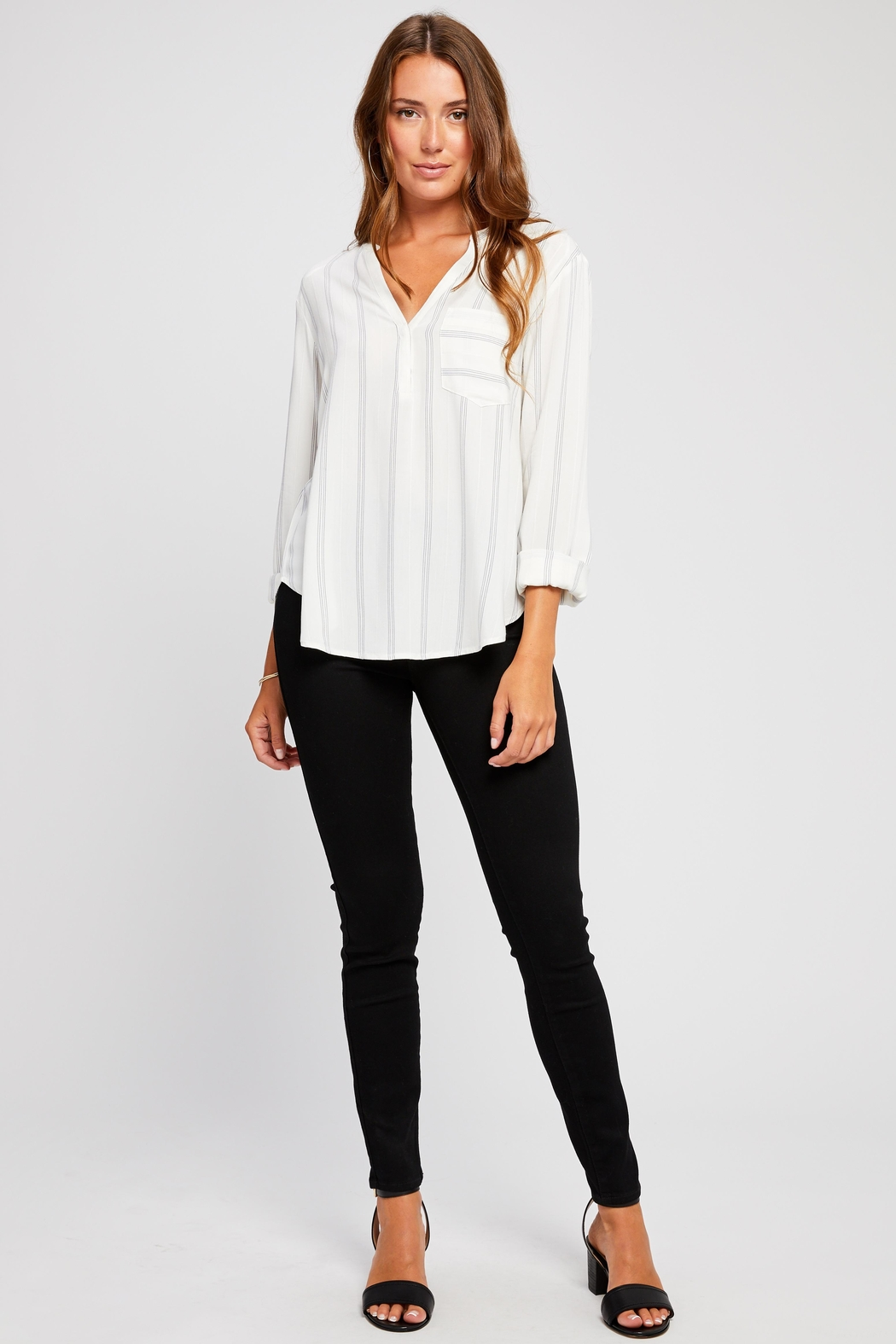 e4d6e98f064 Gentle Fawn Laia Striped Blouse from Florida by Dressing Room ...