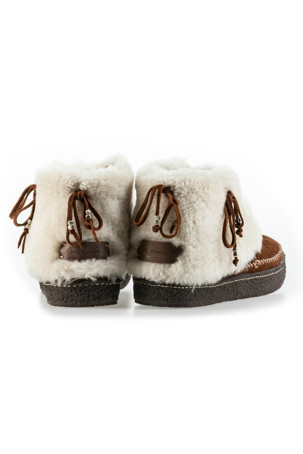 Laidback London Fur-Lined Bootie - Front Full Image