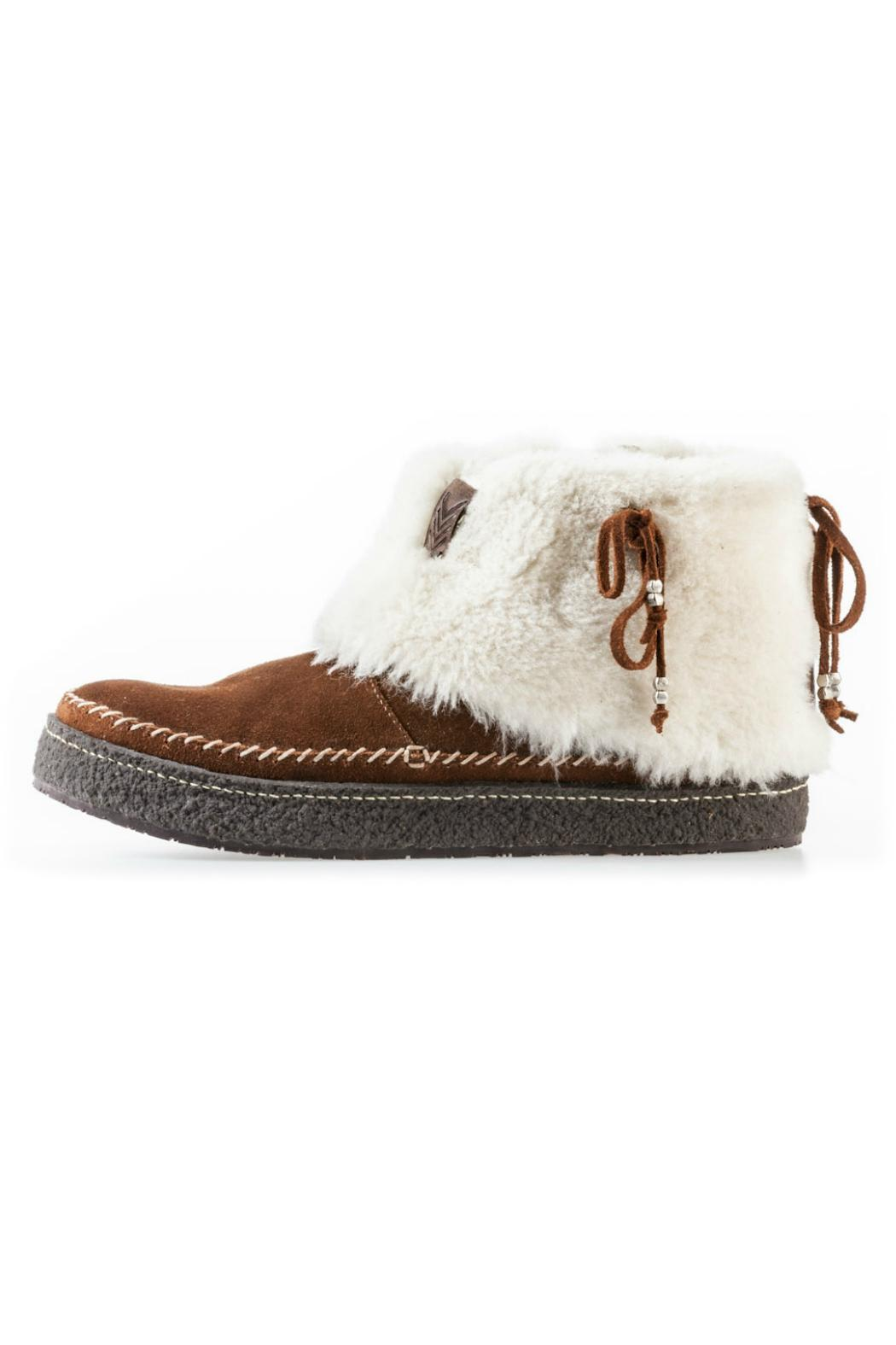 Laidback London Fur-Lined Bootie - Main Image