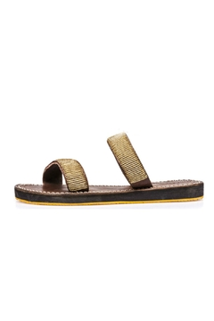 Laidback London Two Strap Sandal - Product List Image