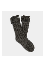 Ugg LAILA BOW FLEECE LINED SOCK - Front cropped