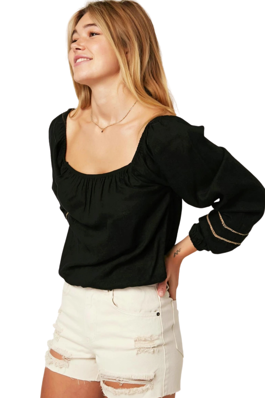 O'Neill Laine Top - Side Cropped Image