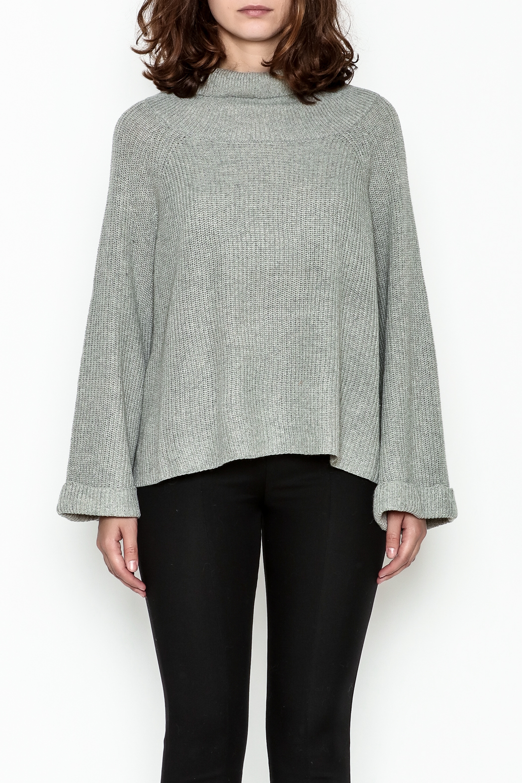 Laju Cowl Neck Sweater - Front Full Image