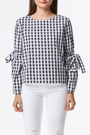Laju Gingham Top - Product Mini Image