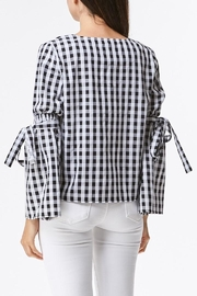 Laju Gingham Top - Front full body