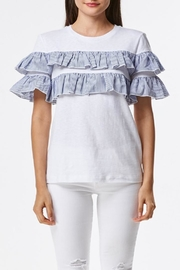 Laju Ruffle Front Top - Front cropped