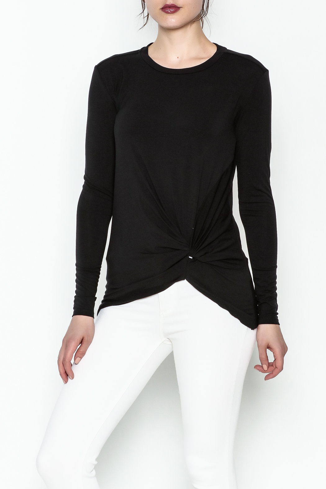 Laju Side Knot Tee - Front Cropped Image